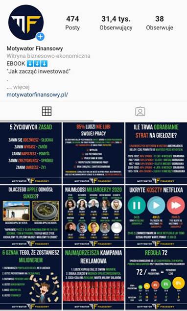instagram motywatorfinansowy